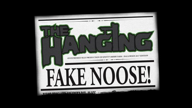 The Hanging Fake Noose 2017